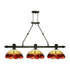 victorian kitchen lighting. Dale Tiffany - Groveland 3-Light Island Kitchen Lighting Victorian