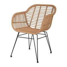 Hampstead All-Weather Bamboo Chairs, Set of 2