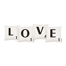 Scrabble   LOVE Cushion Set   Seat Cushions