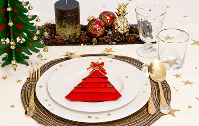 3 Fun Ways to Fold Napkins Into Christmas Trees