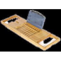 Deluxe Bamboo Bath Caddy