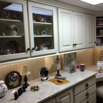 Painted Old World Charm Multipurpose Sewing Room