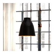 Zuo Modern Bronze Ceiling Lamp, Matte Black
