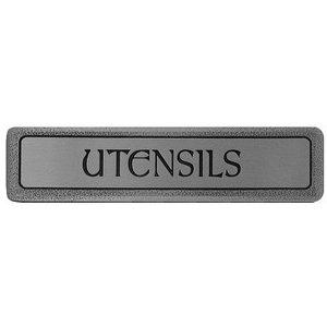 "Notting Hill ""Utensils"" (Horizontal) Pull - Antique Pewter"