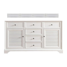 "Savannah 60"" Cottage White Double Vanity"