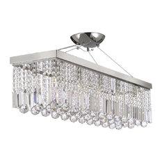 Raindrop chandeliers houzz gallery lighting modern rain drop crystal chandelier linear pendant chandeliers aloadofball Gallery