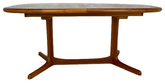 danish teak dining table by dyrlund dining tables