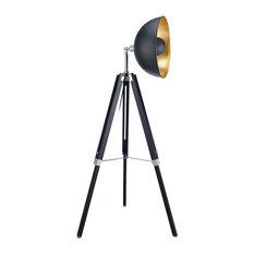 Versanora Fascino Tripod Floor Lamp, Gold