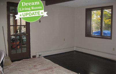 Dream Living Room Makeover Progress Report