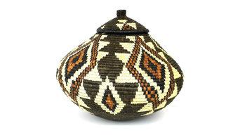 Zulu Wedding Basket - 026 - Ilala Weavers