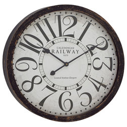 Traditional Wall Clocks By Gwg Outlet
