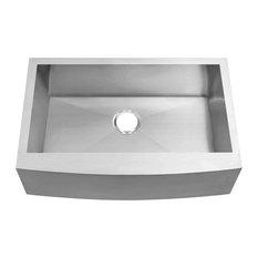 """36""""x21"""" Farmhouse Apron Single Bowl Kitchen Sink 10"""" Deep"""