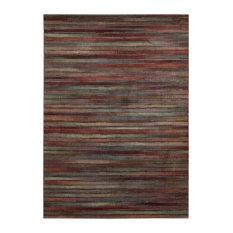 "Contemporary Multicolor Rug, 5'3""x7'5"", Expressions xP11 Nourison"