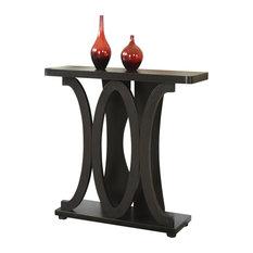 Convenience Concepts   Newport Hailey Console Table, Espresso   Console  Tables
