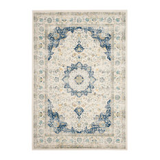Bay Bethany Rug Ivory And Blue 6 7 X9