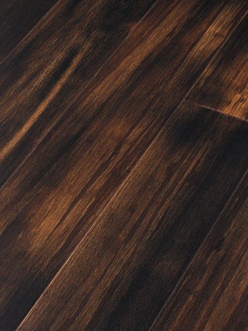 Teragren   Teragren Portfolio Colors, Strand Woven Bamboo, Paris Black   Bamboo  Flooring