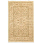 """Unique Loom - Unique Loom Edinburgh Aurinia Area Rug, Cream, 3'3""""x5'3"""" - The classic look of the Edinburgh Collection is sure to lend a dignified atmosphere to your home. With an array of colors and patterns to choose from, there�s a rug to suit almost any taste in this collection. This Edinburgh rug will tie your home�s decor together with class and amazing style."""