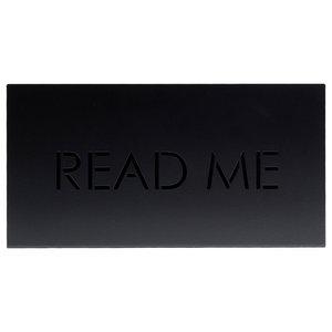 Read Me Magazine Rack, Black