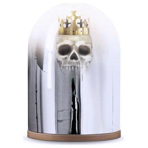 King Arthur Mirror Dome Table Lamp