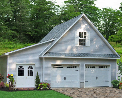 Amish Made Garage : Amish built garages houzz