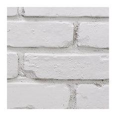 BuyFauxSone Chicago Brick Wall Panel, SAMPLE-Stone White