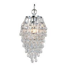 Teardrop chandeliers houzz af lighting crystal teardrop mini chandelier chandeliers aloadofball Images