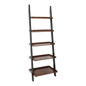 d0d28ebc8c Convenience Concepts American Heritage Bookshelf Ladder ...