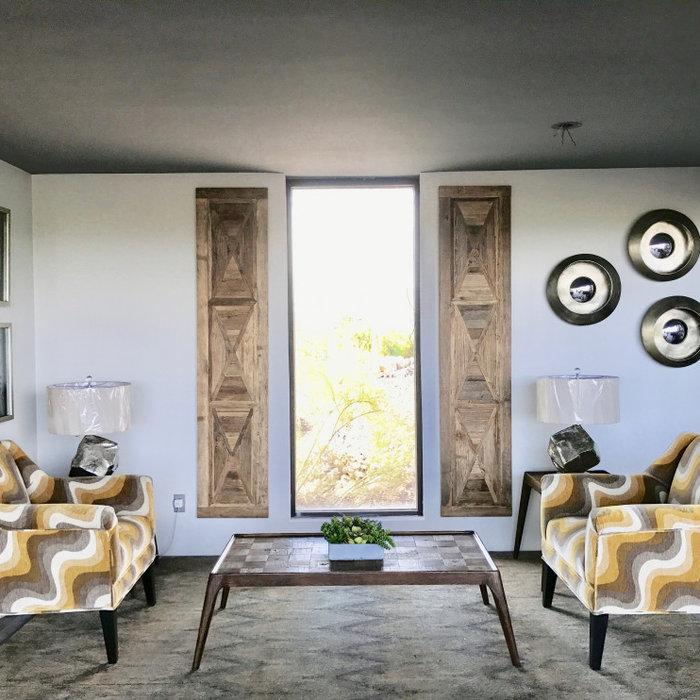 Minimalist home design photo in Phoenix