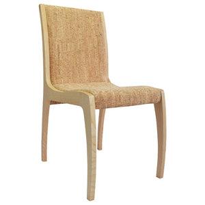Zoe Contemporary Cork Chair