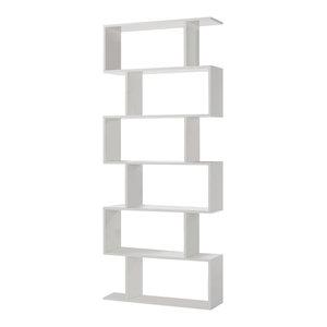 Athena Tall Shelving Unit, White