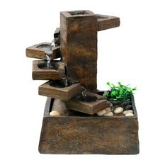 Tabletop Indoor Fountains 25 most popular rustic rustic indoor fountains for 2018 houzz alpine corporation eternity tabletop fountain step stone indoor fountains workwithnaturefo