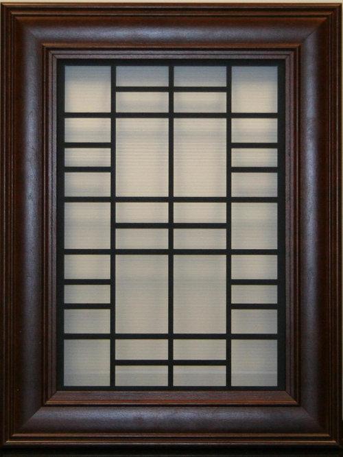 Cabinet door and window inserts for Door window inserts