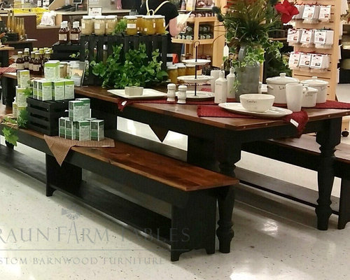 Reclaimed Barn Wood Furniture - Dining Sets