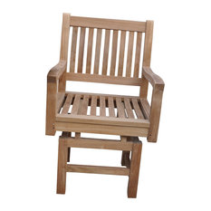 Anderson Teak   Rialto Rocker Dining Armchair   Outdoor Rocking Chairs