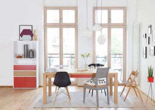 teppich unterm esstisch top oder flop. Black Bedroom Furniture Sets. Home Design Ideas