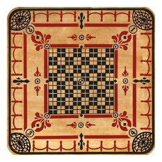 """Vintage Carrom Game Board Sign, 20""""x20"""""""