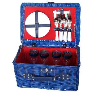 Berry Blue Picnic Basket