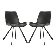 Terra Accent Chair Set Of 2 Black