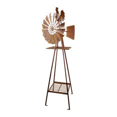 Windmill, Rustic Rooster