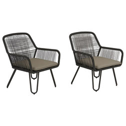 Tropical Outdoor Lounge Chairs by Dorel Home Furnishings, Inc.