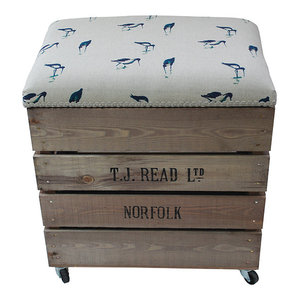 Apple Box Breakfast Barstool, Wading Bird