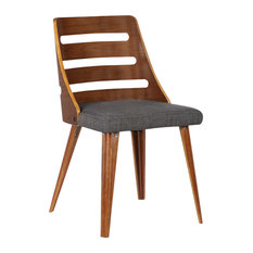MOD   Dana Dining Chair, Charcoal   Dining Chairs