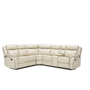 Lorenzo Leather Sofa Bed