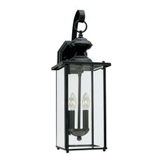 50 most popular traditional outdoor wall lights and sconces for 2018 sea gull lighting two light outdoor wall lantern black outdoor wall lights and aloadofball Choice Image