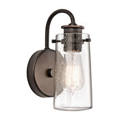 Wall Sconce 1-Light, Olde Bronze