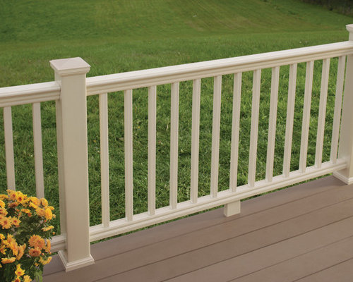 Bufftech Evernew Panorama Composite Vinyl Railing