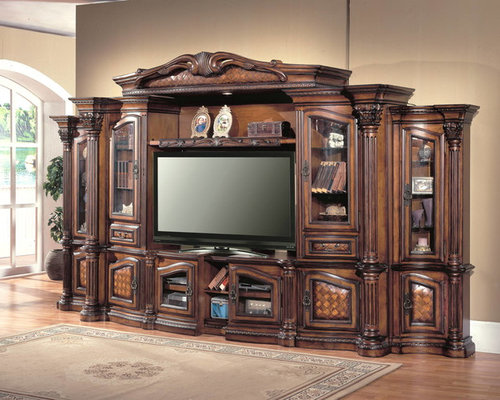 Parker House Furniture Grandview Entertainment Wall Collection   Furniture