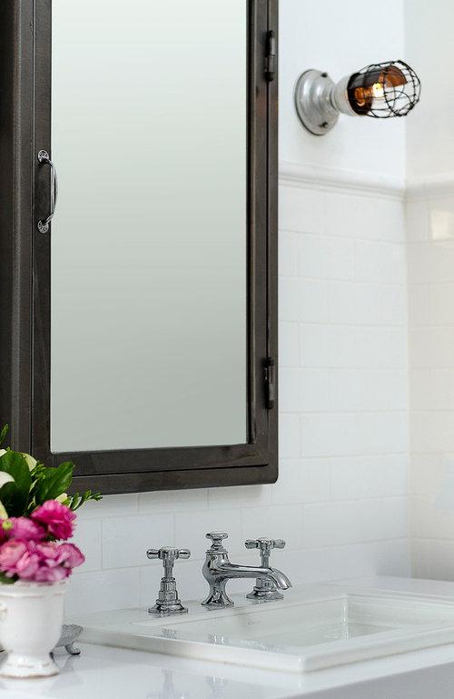 Master Bath Remodel Vintage Inspired More Info