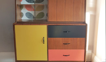 Orla Kiely-style Drinks Cabinet Commission