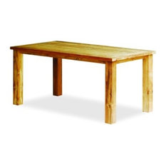 Reclaimed Teak Table, 63 By Atlanta Teak Furniture